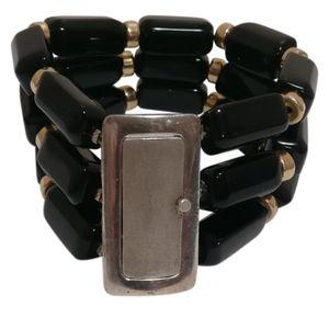 Jewelry - 🇨🇦 Sterling silver 925 bracelet with onyx